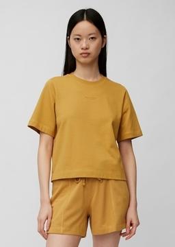 Снимка на SUSTAINABLE Дамска тениска от органичен памук и SeaCell™LT Lyocell