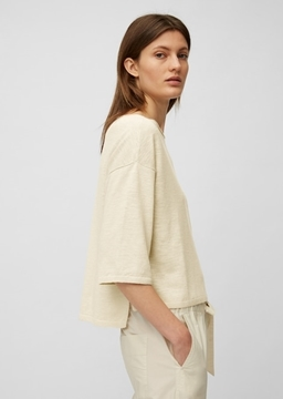 Picture of FINE KNIT JUMPER IN A BLEND OF LINEN AND VISCOSE