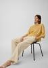 Снимка на Дамска блуза с 3/4 ръкав от лен и вискоза
