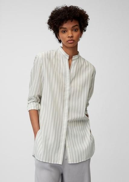 Снимка на SUSTAINABLE Дамска риза на райета от TENCEL™ LYOCELL