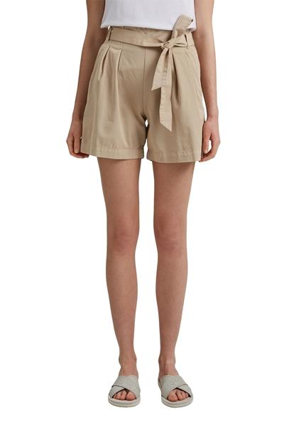 Снимка на Дамски къси панталони с колан