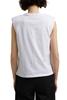 Снимка на SUSTAINABLE Дамска тениска с подплънки от органичен памук