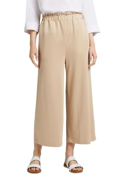 Снимка на Дамски панталони тип кюлоти от Модал