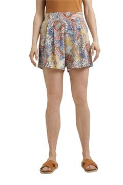 Снимка на SUSTAINABLE Дамски къси панталони с цветен принт