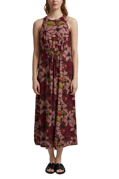 Снимка на SUSTAINABLE Макси рокля на цветя от LENZING™ ECOVERO™