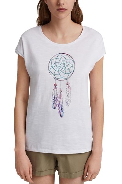 Снимка на SUSTAINABLE Дамска  тениска от органичен памук с щампа