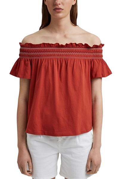Снимка на SUSTAINABLE Дамска блуза с голи рамена и ластик