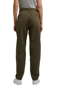 """Снимка на SUSTAINABLE Дамски панталон """"Paper bag"""" от памук и лиосел"""
