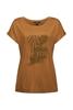 Снимка на SUSTAINABLE Тениска с принт от LENZING™ ECOVERO™ (вискоза)