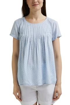 Снимка на SUSTAINABLE Дамска риза с къс ръкав от вискоза