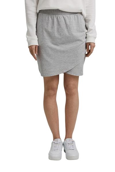 Снимка на SUSTAINABLE Къса пола, тип прегърни ме, от органичен памук
