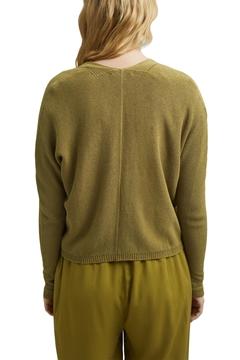 Снимка на Дамска жилетка от памук и вискоза