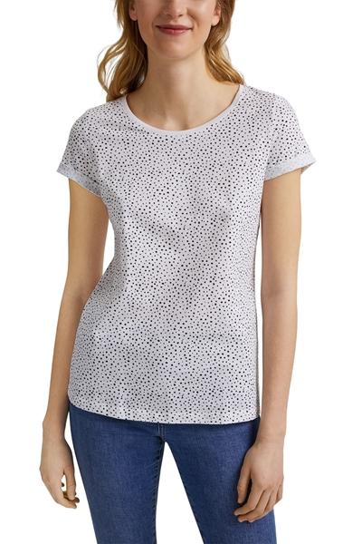 Снимка на SUSTAINABLE Дамска тениска от органичен памук с цветен принт
