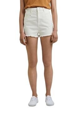 Снимка на SUSTAINABLE Дамски къси панталони с висока талия и винтидж ефект