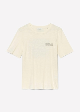 Снимка на SUSTAINABLE дамска тениска от органичен памук и вискоза