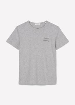 Снимка на SUSTAINABLE Дамска тениска с бродирани еко послания