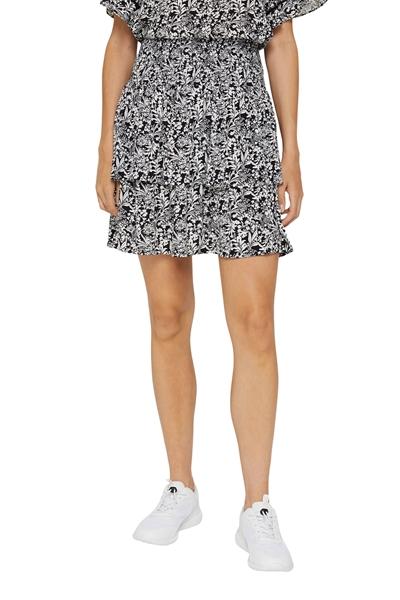 Снимка на SUSTAINABLE Къса пола с волан от вискоза LENZING™ ECOVERO™