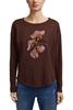 Снимка на Дамска блуза с дълъг ръкав от памук