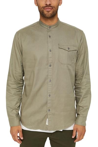 Снимка на Мъжка риза от органичен памук и лиосел (TENCEL™)