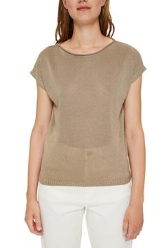 Picture of Shimmering short-sleeved jumper