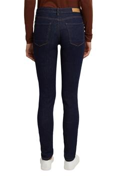 """Снимка на SUSTAINABLE Дамски """"Slim"""" дънки със средновисока талия от органичен памук"""