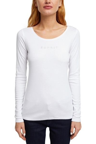 Снимка на SUSTAINABLE Блуза с дълъг  ръкав от органичен памук