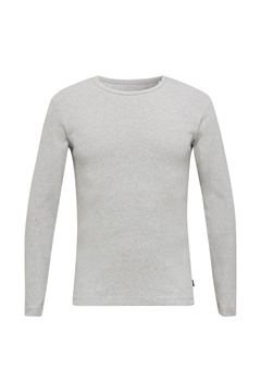 Снимка на SUSTAINABLE Мъжка блуза с дълъг ръкав от органичен памук