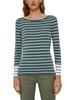 Снимка на SUSTAINABLE Блуза с дълъг  ръкав на райета от органичен памук
