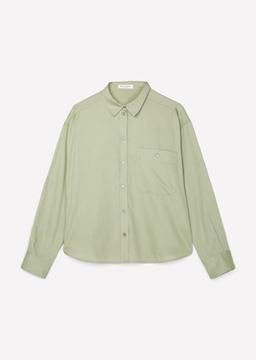 Снимка на SUSTAINABLE Дамска BOYFRIEND риза от органичен памук