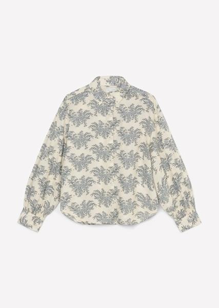 Снимка на SUSTAINABLE Дамска риза от органичен памук с принт