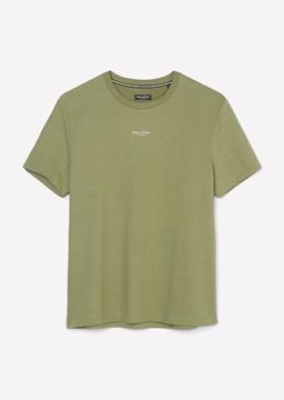 Снимка на Мъжка тениска с лого от органичен памук