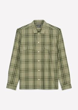 Снимка на SUSTAINABLE Мъжка риза на райе от TENCEL™ LYOCELL