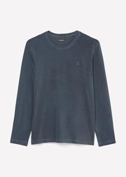 Снимка на SUSTAINABLE Мъжка блуза с лого от органичен памук