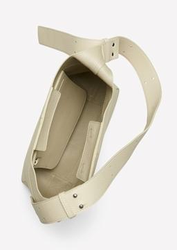 Снимка на Дамска чанта Hobo bag от телешка кожа
