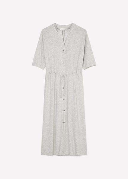 Снимка на Дамска рокля с къс ръкав от вискоза ECOVERO™ by LENZING™