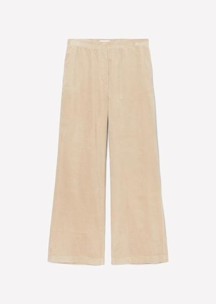 Снимка на SUSTAINABLE Дамски панталон от рипсено кадифе