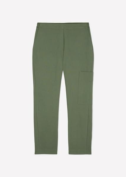 Снимка на Дамски карго панталон от органичен памук