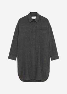 Снимка на Рокля тип риза от мек органичен памук