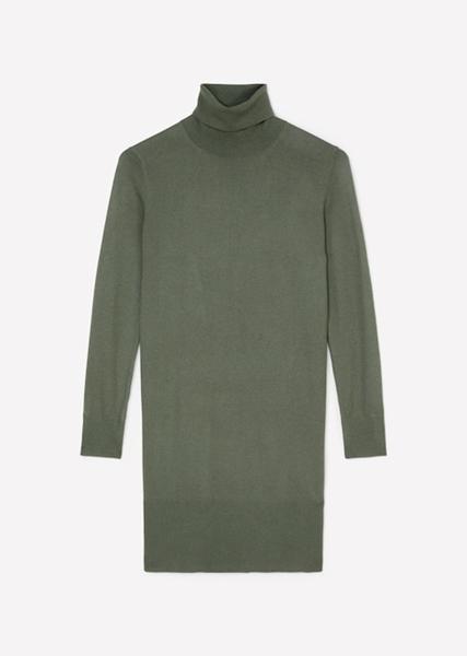 Снимка на SUSTAINABLE Плетена рокля с дълъг ръкав