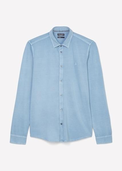 Снимка на SUSTAINABLE Мъжка риза от органичен памук