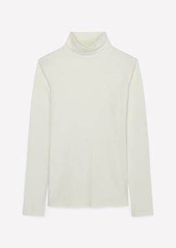Снимка на SUSTAINABLE Дамска блуза тип поло от органичен памук