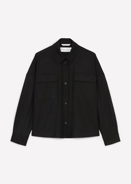 Picture of SUSTAINABLE OVERSHIRT MADE OF A BLEND OF WOOL AND VISCOSE