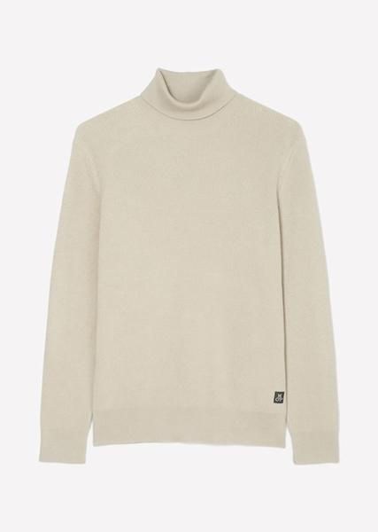 Снимка на SUSTAINABLE Мъжки пуловер с поло яка от памук