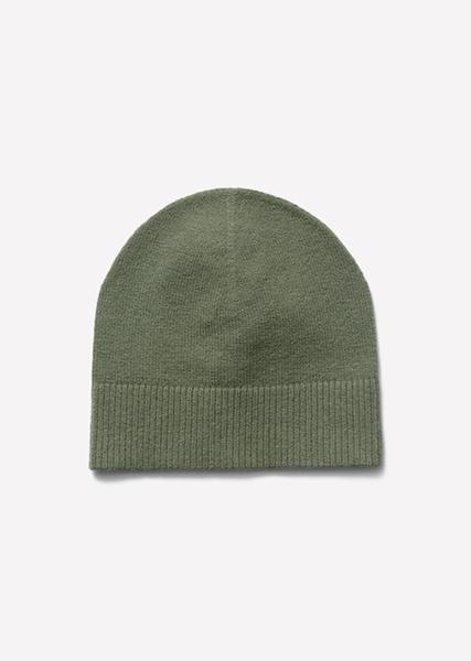 Снимка на Дамска шапка от памук и вълна