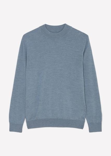 Снимка на SUSTAINABLE Мъжки пуловер от висококачествена вълна