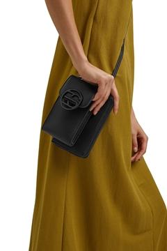 Снимка на Чанта за смартфон с портмоне от еко кожа