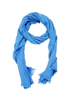 Picture of Textured scarf made of 100% organic cotton