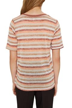 Снимка на SUSTAINABLE Дамска тениска на райета  от органичен памук
