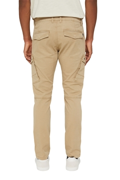 Picture of Stretch cotton cargo trousers