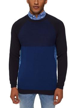 Снимка на SUSTAINABLE Мъжки цветен пуловер от органичен  памук